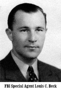 FBI Special Agent Louis C. Beck