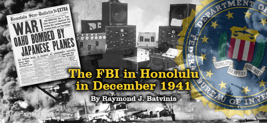 FBI in Honolulu in 1941