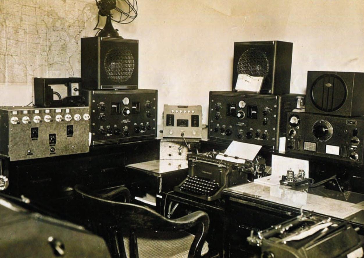 Honolulu FBI Radio Gun Vault July 1942