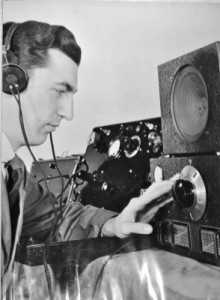 FBI agent Richard Millen, who set up the Benson House radio site in Wading River. The Benson House was an isolated FBI radio transmission location, where agents pretended to be Nazi spies during World War II. (Credit: Suffolk County Historical Society)