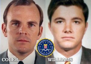 FBI SA Jack Coler and SA Ron Williams