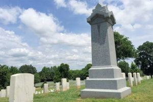 Monument Placed by Nazis Sits Quietly in Tennessee Cemetery